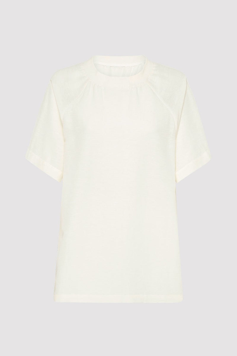 Harry Raglan Tee - Ivory