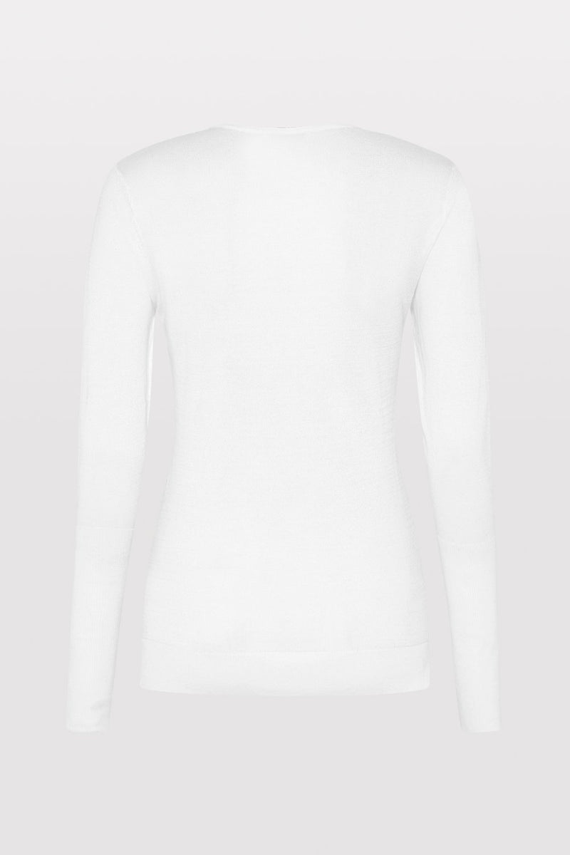 Hiro Knit Top - Off White