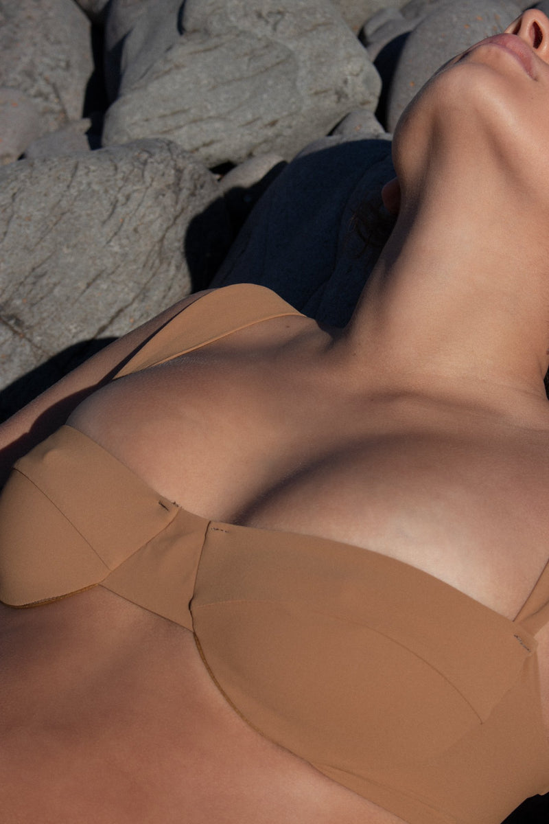 Ella Top - Nutmeg - By Ziah