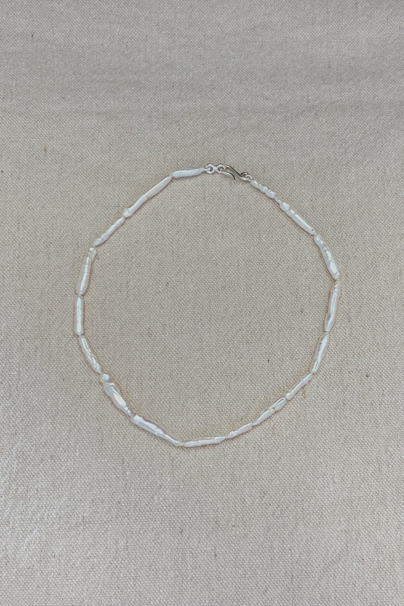Elongated Pearl Choker - By Holly Ryan