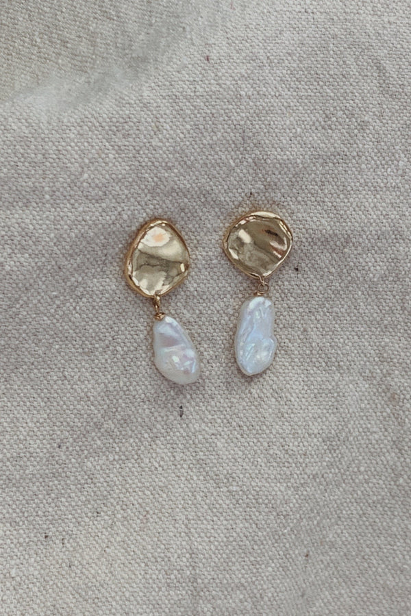 Freshwater Earrings - By The Line of Sun