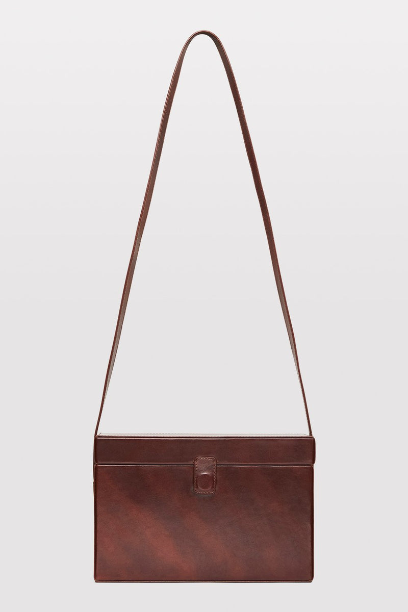 Iniko Box Bag - Antique Tan