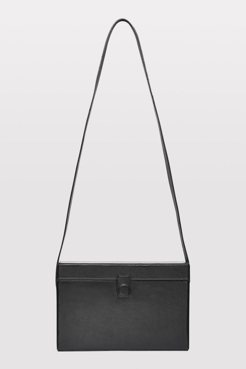 Iniko Box Bag - Black