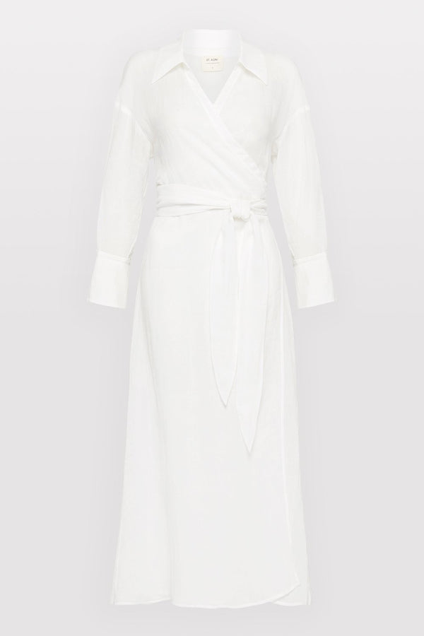 Jan Dress - White