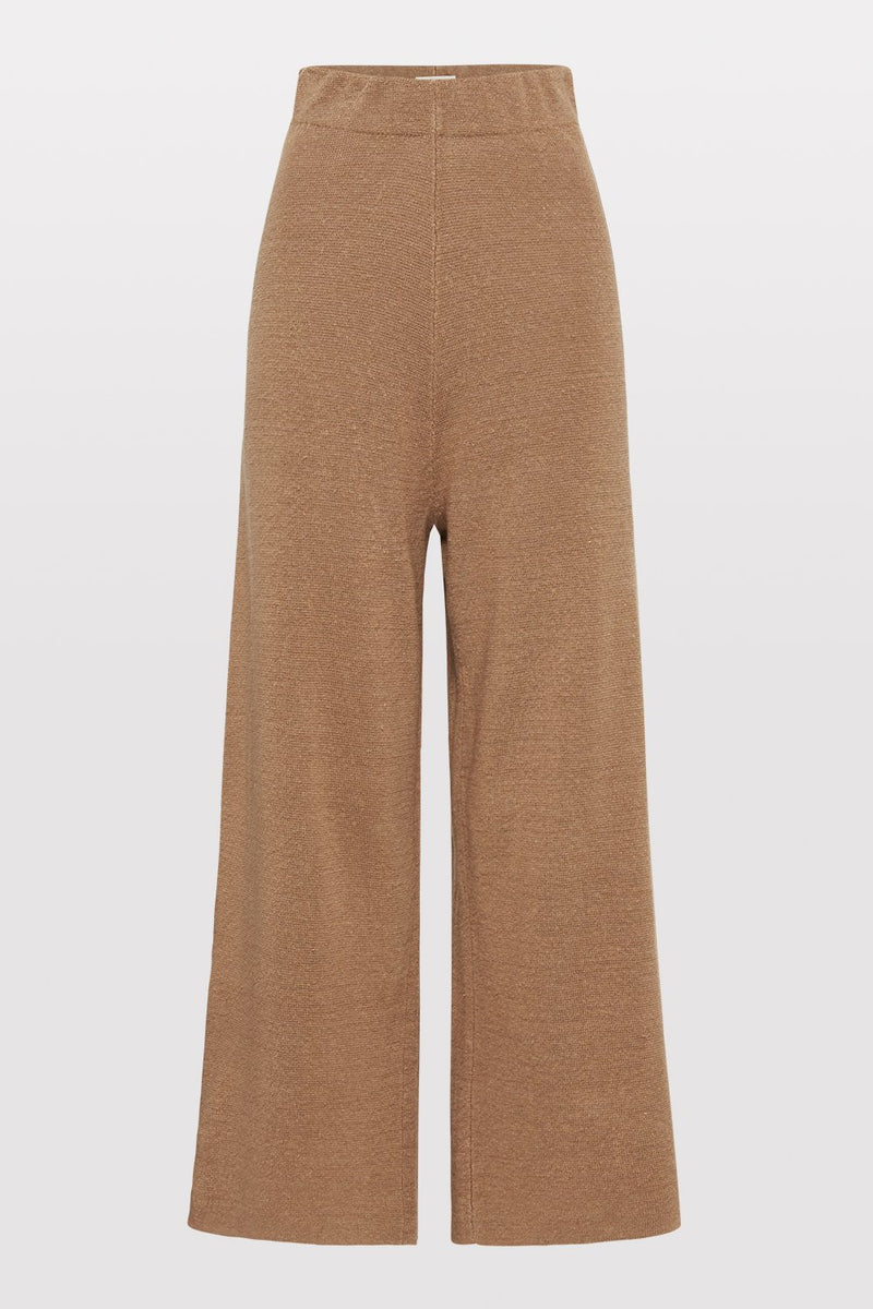 Knit Lounge Pant - Almond