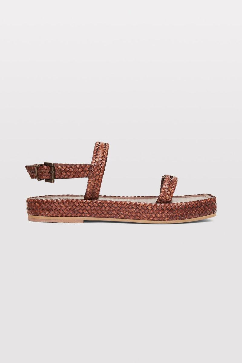 Lori Woven sandal - Antique Tan