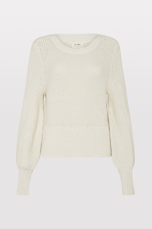 Maiko Knit Jumper - Putty