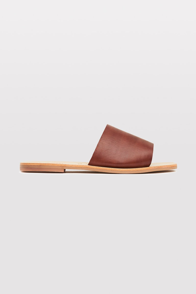 Margot Slide - Antique Tan