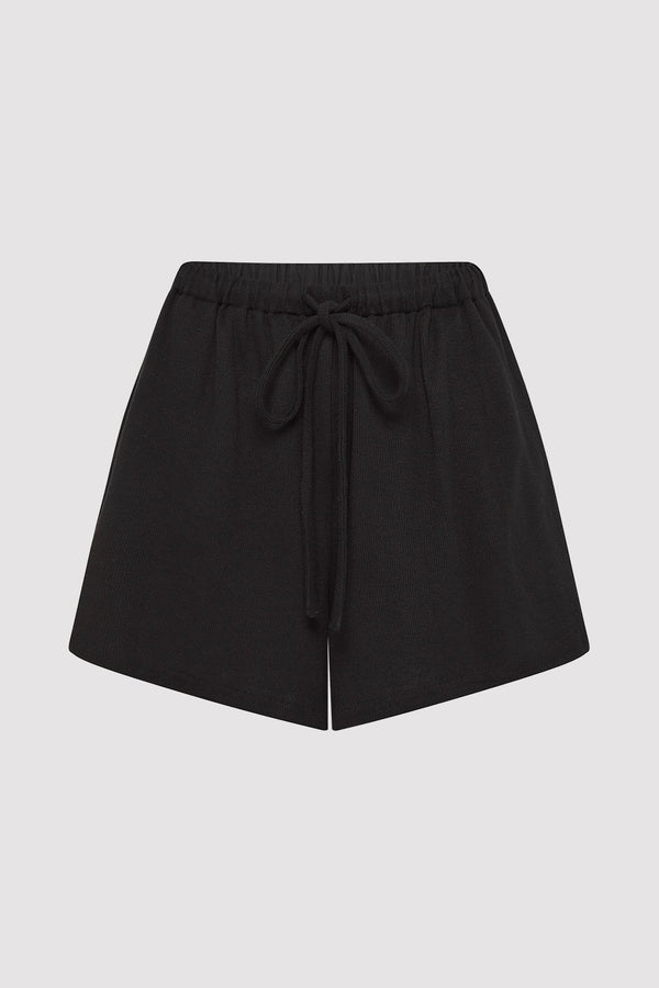 Odile Lounge Shorts - Black
