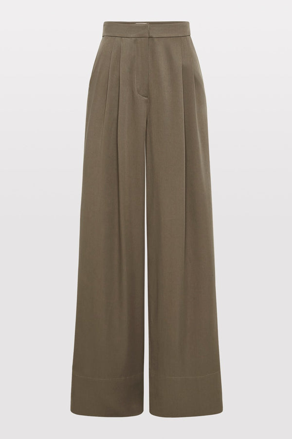 Patti Tencel Pants - Olive