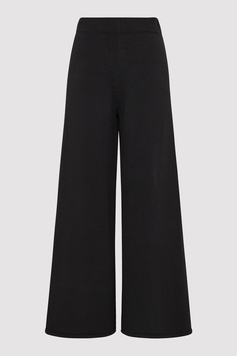 Rem Knit Lounge Pants - Black