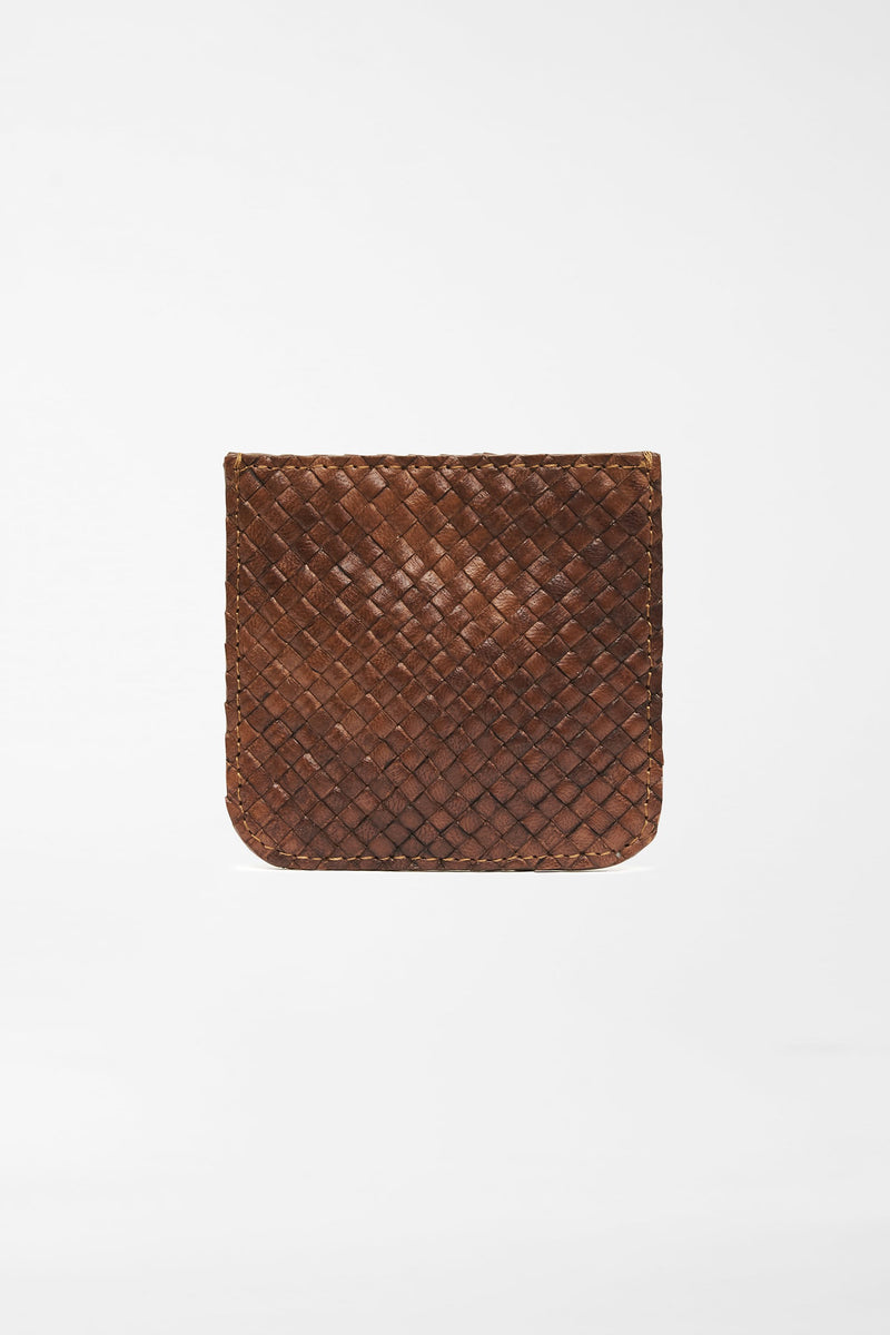 Roy Coin Purse - Antique Tan