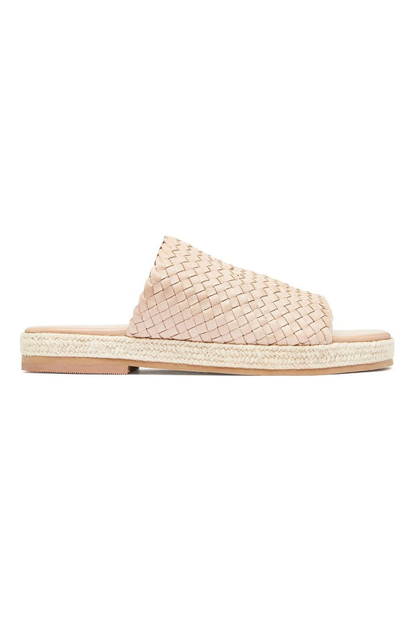 Tuscan Woven Espadrille - Nude