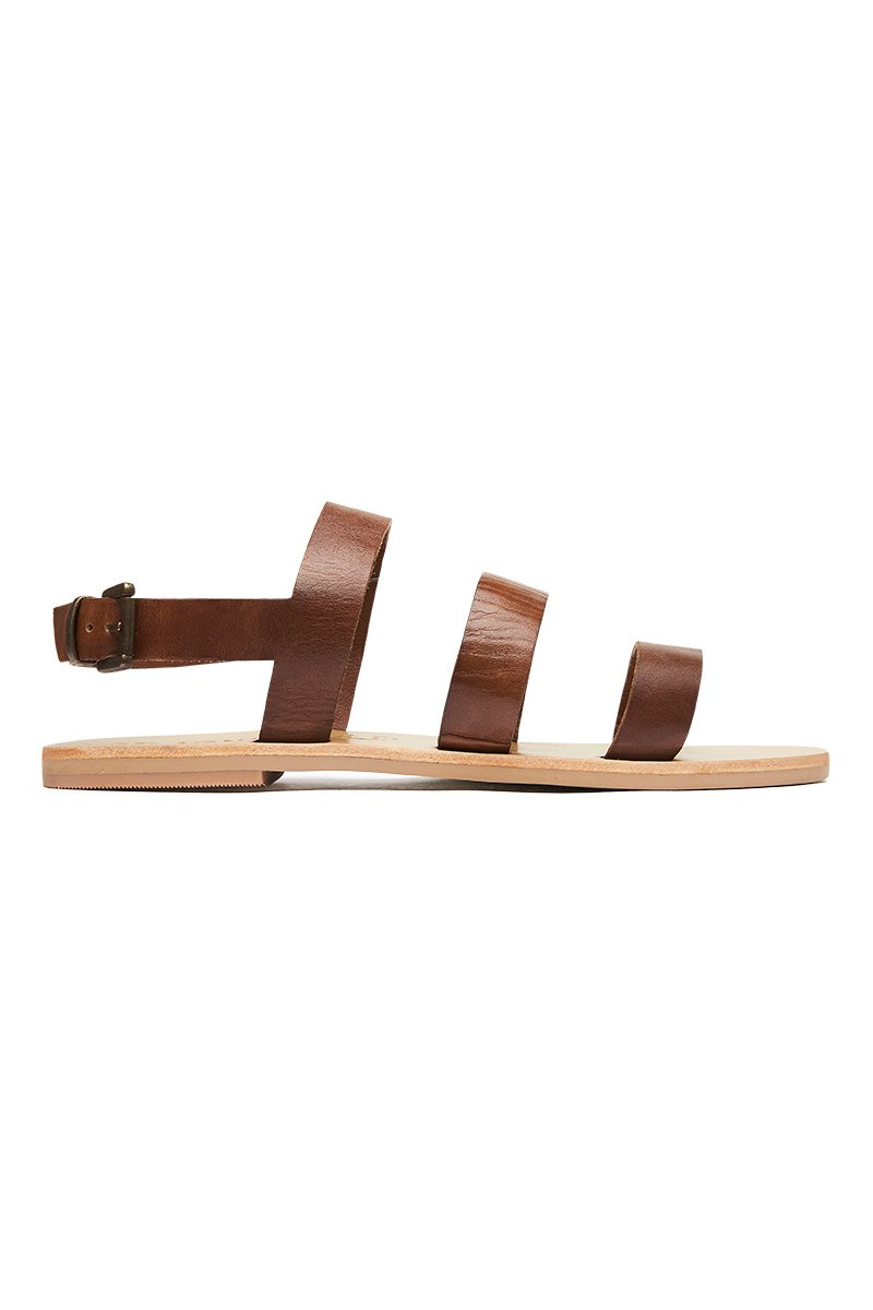 Erika Sandal - Antique Tan