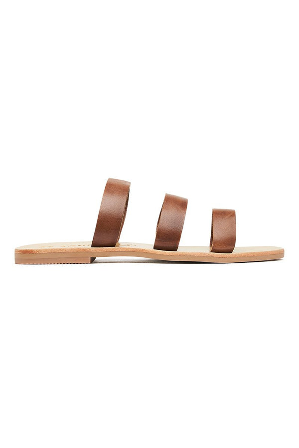 Pippa Slide - Antique Tan
