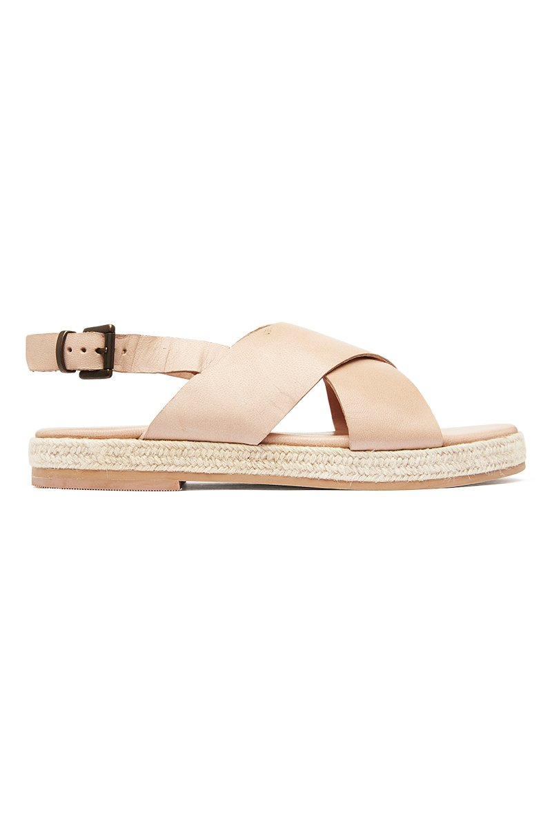 Basque Espadrille - Seashell