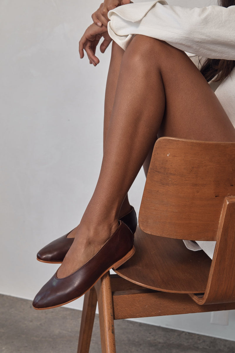 Anna Flat - Antique Tan
