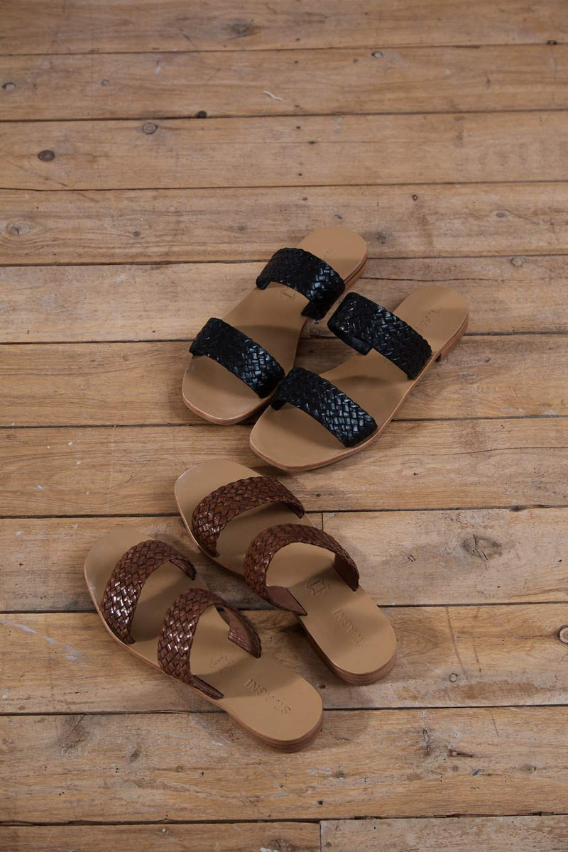 Piers Slide - Antique Tan