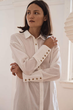 Hisa Shirt - White