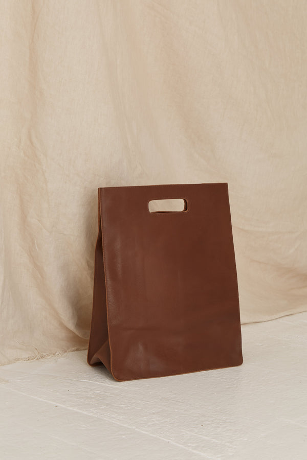 York Cut Out Tote - Vintage Tan