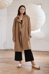 Sumi Trench Coat - Army