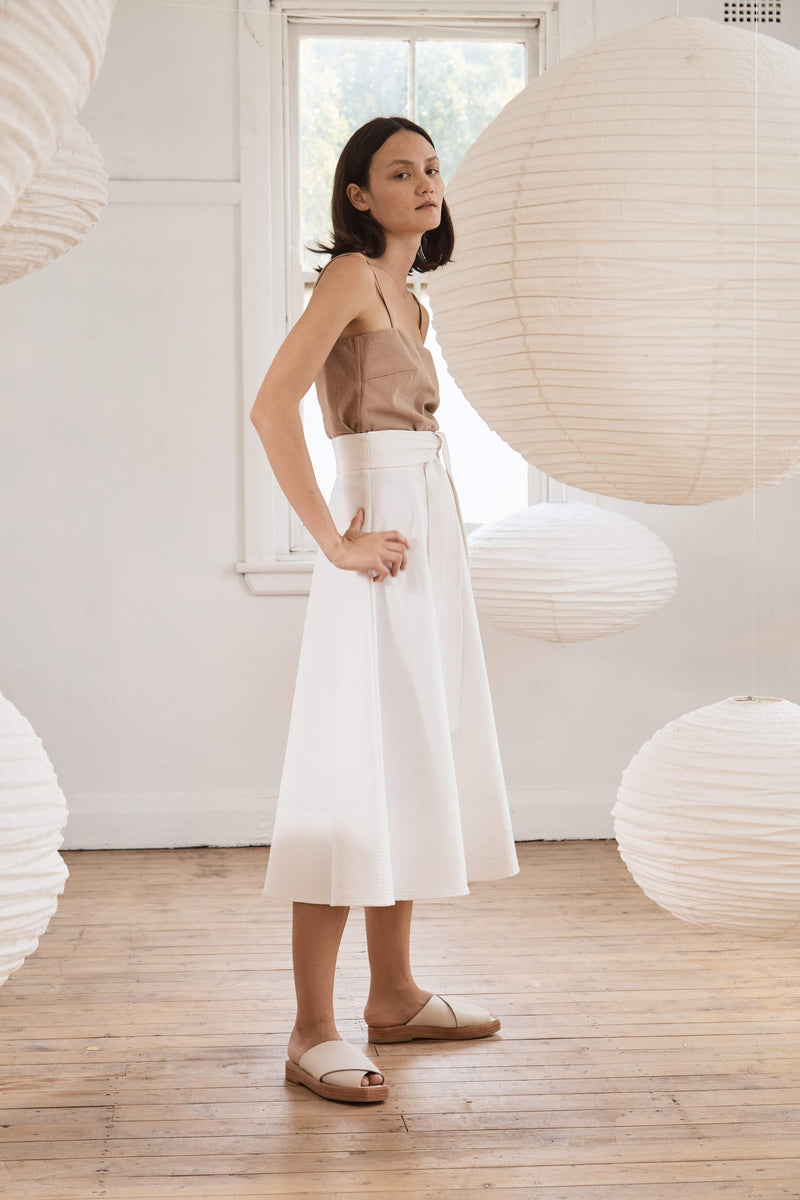 Manami Skirt - Off White