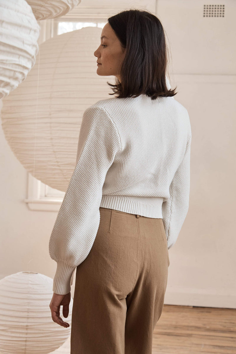 Ruri Wrap Knit - Putty