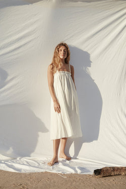 Niort Dress - White