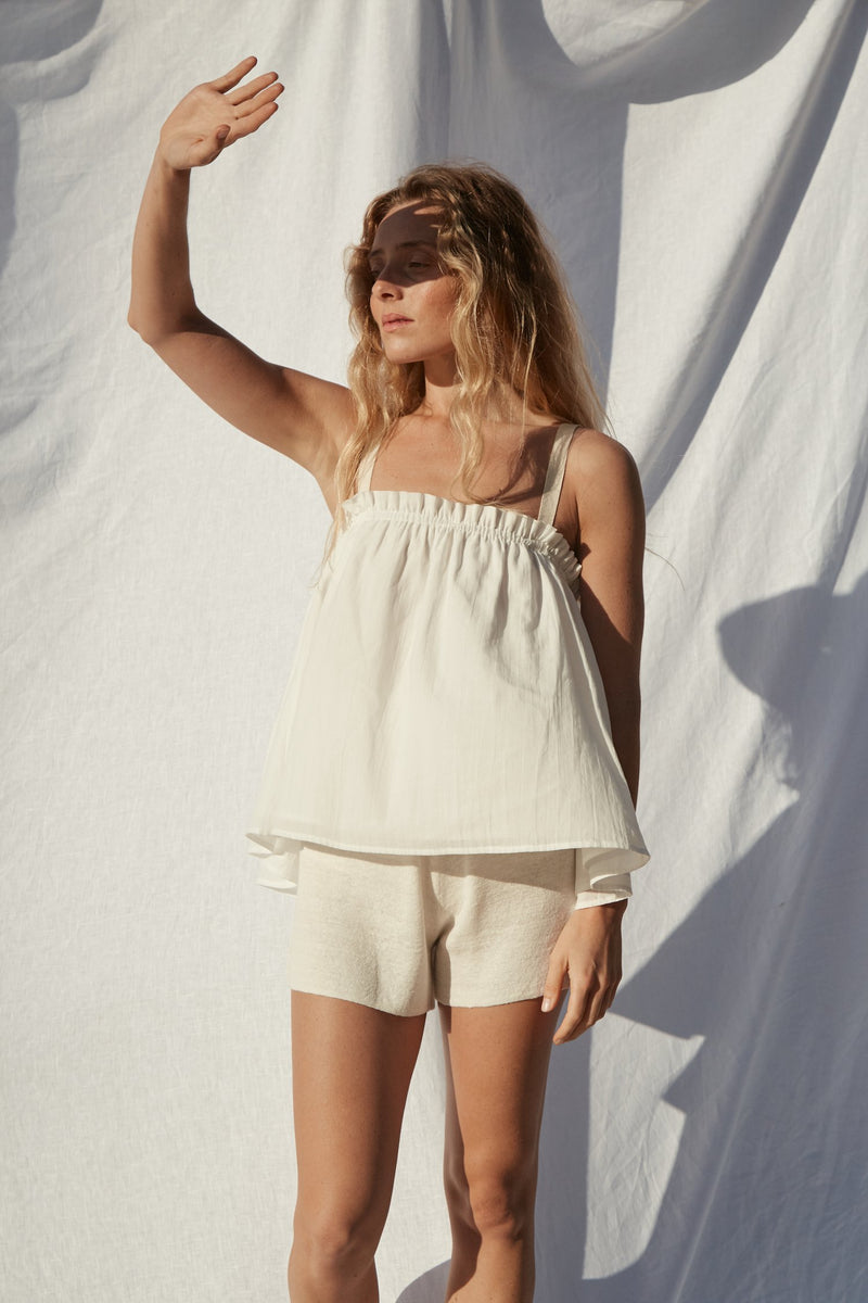Niort Top - White