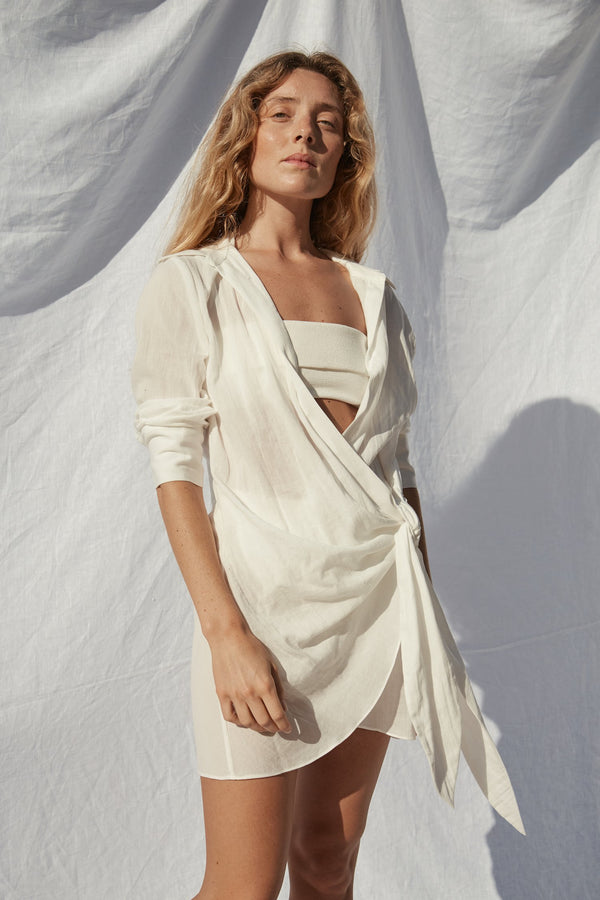 Agde Tunic - White