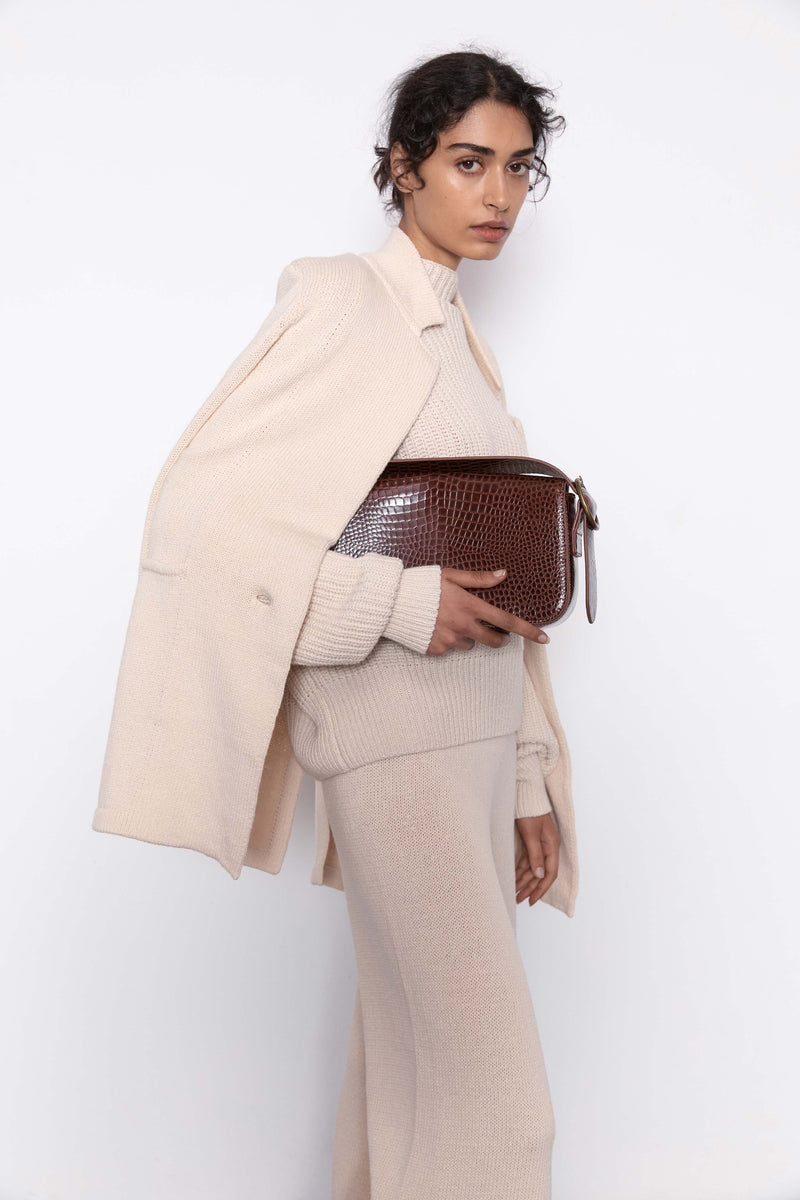 Bianca Shoulder Bag - Antique Tan