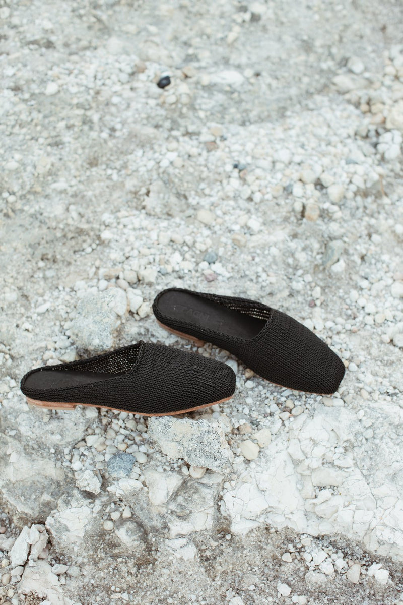 MAE Knit Loafer - Black