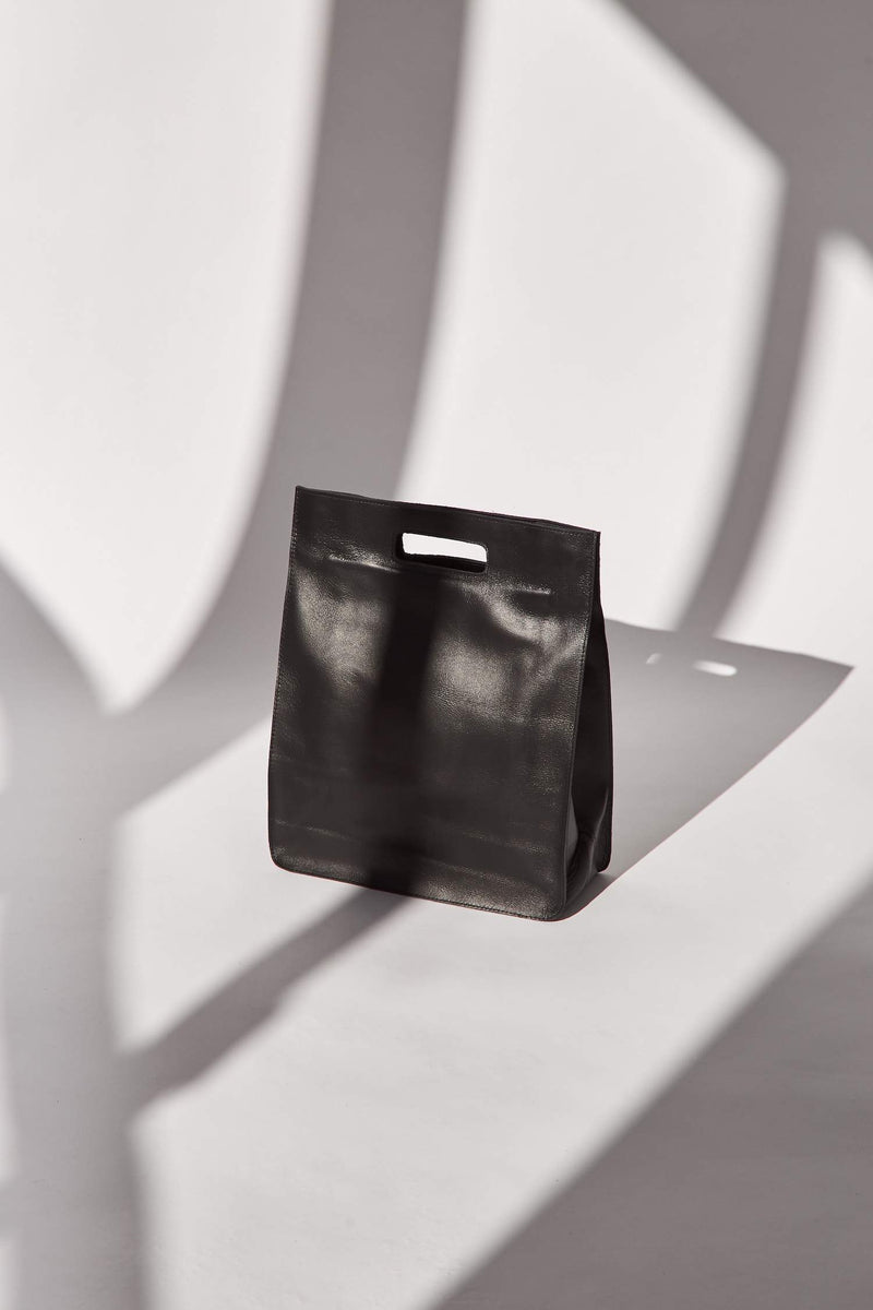 York Cut Out Tote - Black