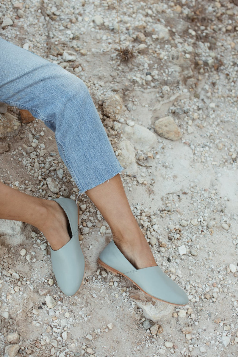 ST AGNI X DRESLYN George Glove Shoe - Ice Blue