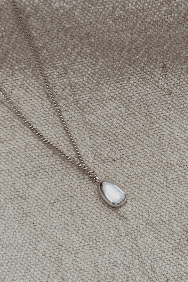 Dune Necklace - Silver - By Flash Jewellery