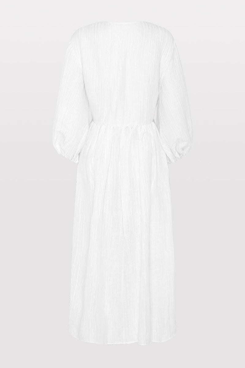 Yoko Dress - Rice White