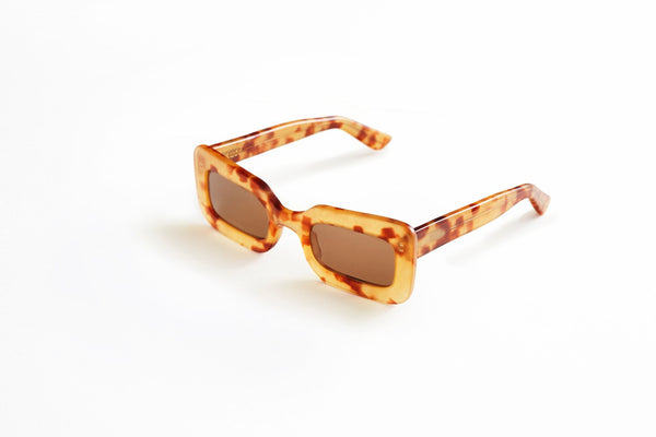 Franca Sunglasses Honey Tort - By Auor