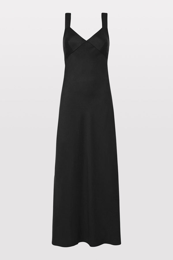 Zoe Slip Dress - Black