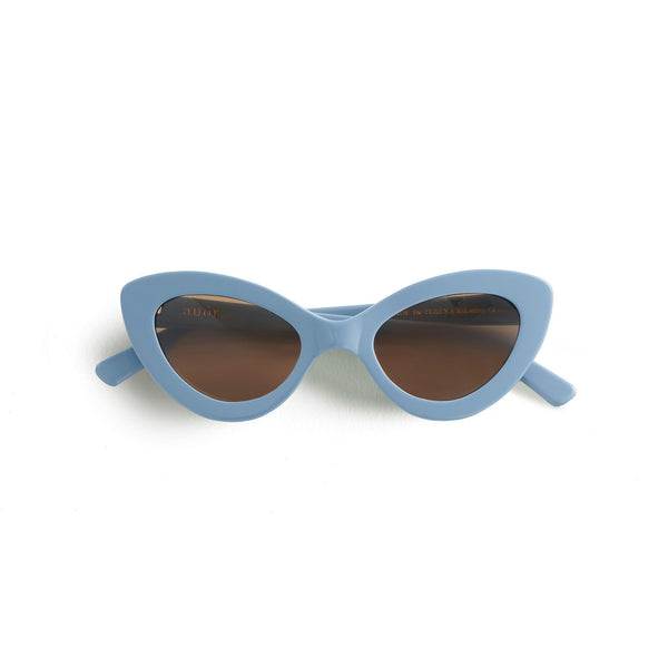 Valentina Sunglasses French Blue - By Auor
