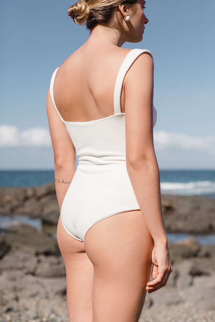 Ella One-Piece Off White - By Ziah
