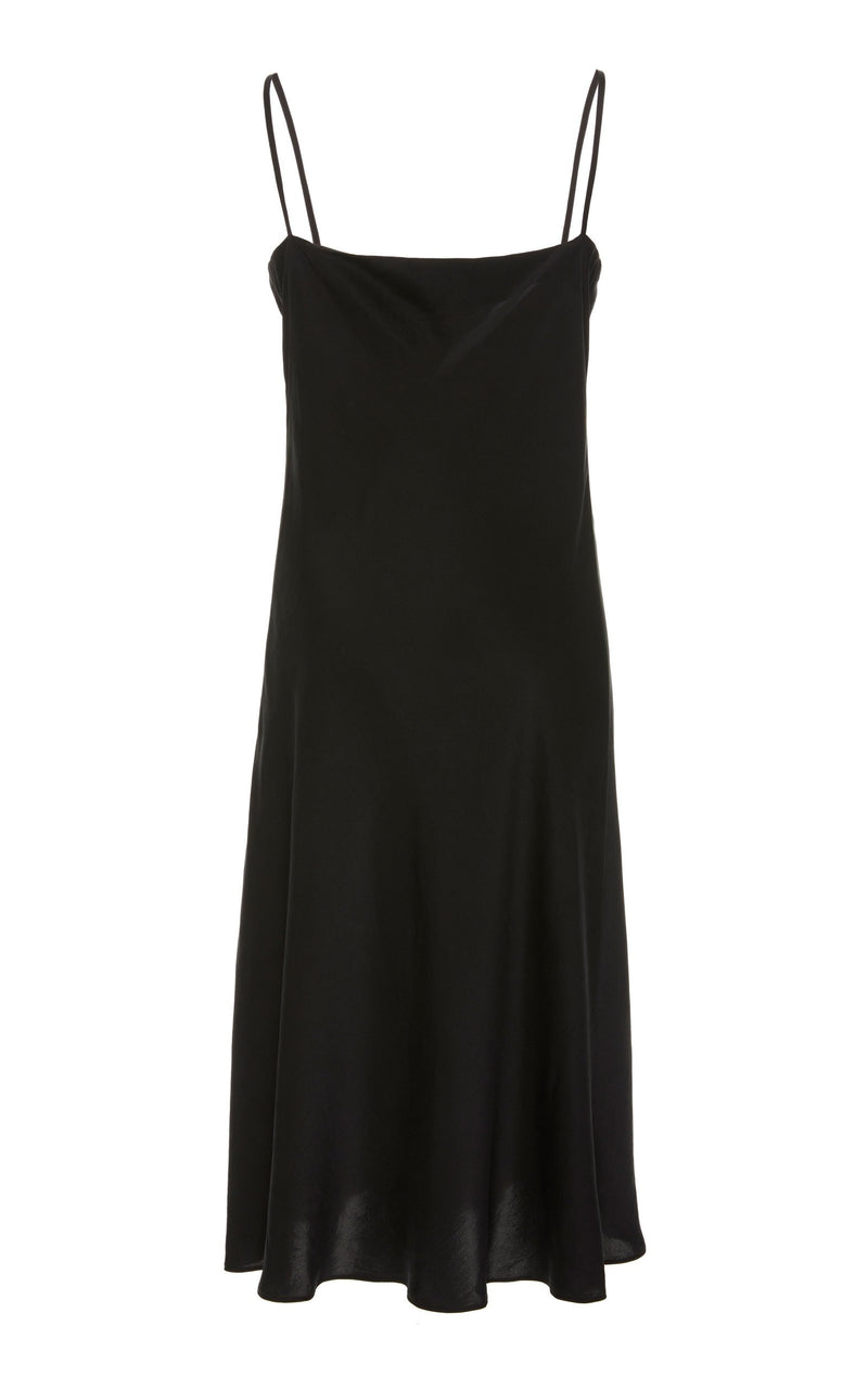 Belle Silk Dress - Black
