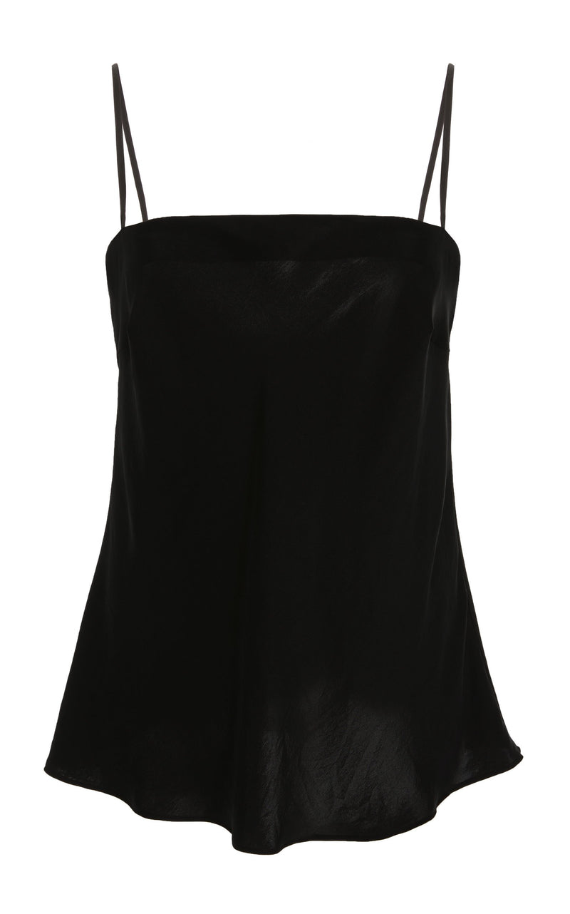 Belle Silk Top - Black