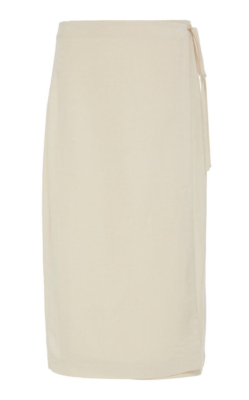 Aloys Wrap Skirt - Ivory