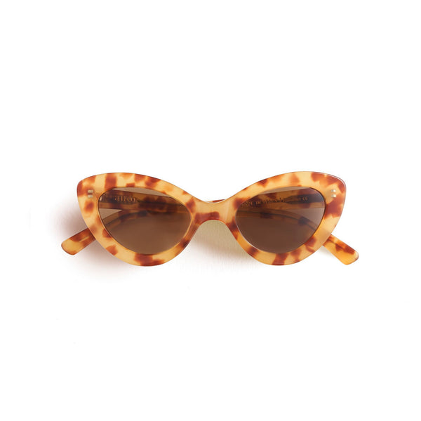 Valentina Sunglasses Honey Tort - By Auor