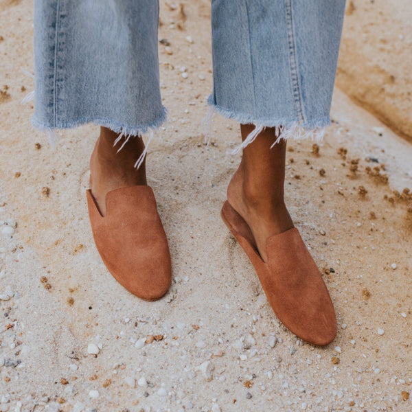 ST. AGNI HUGO Loafer - Clay Suede