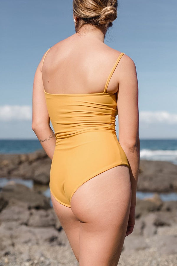 Zoe One-Piece Mustard - By Ziah