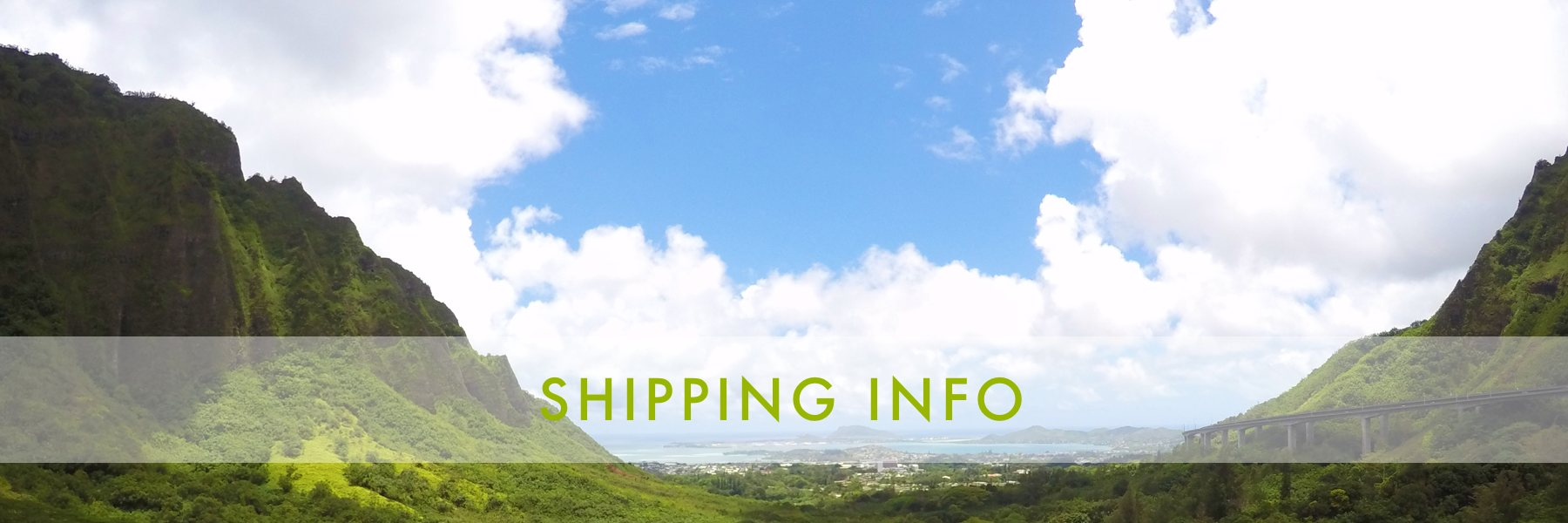 Papaya Sun - Shipping Info
