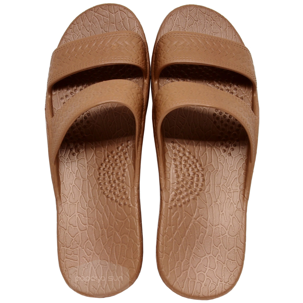 Zero G Jandals - Brown - PapayaSun