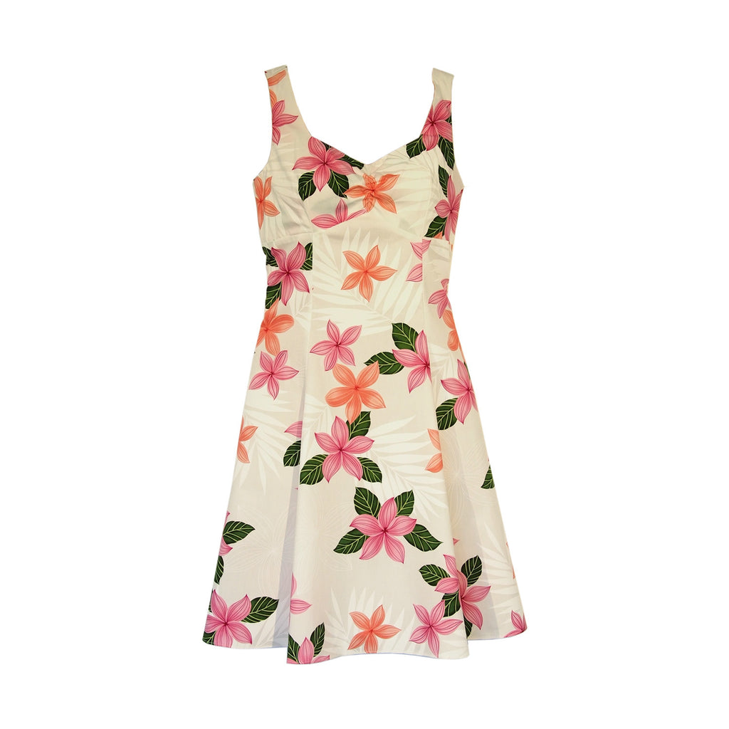 Guava Pink Hawaiian Sundress - PapayaSun