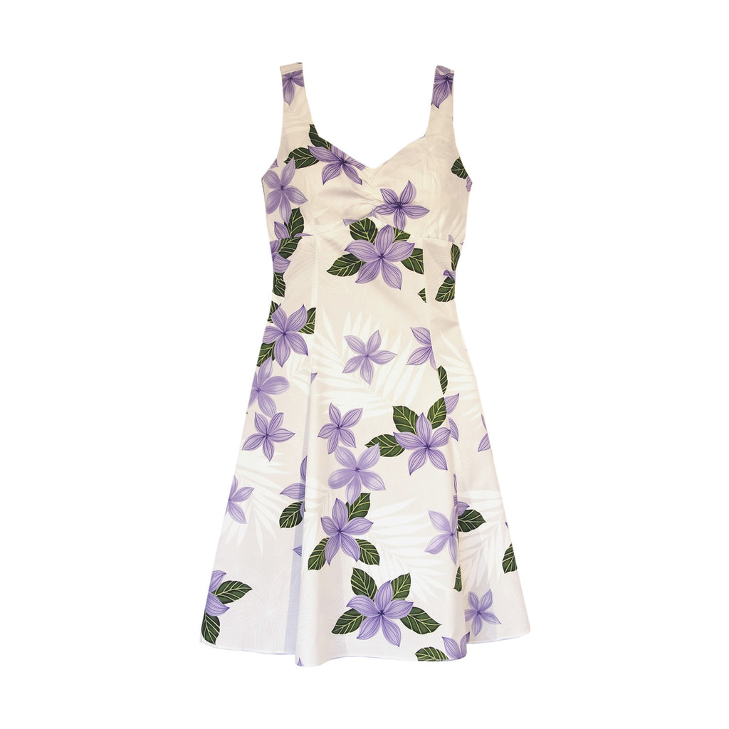 Guava Purple Hawaiian Sundress - PapayaSun